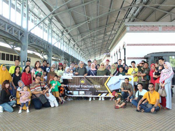 PT.United Tractors Mengunjungi Museum Kereta Api Ambarawa